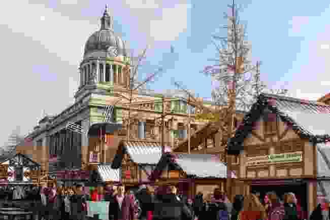 Nottingham Winter Wonderland, Nottingham (Shutterstock)