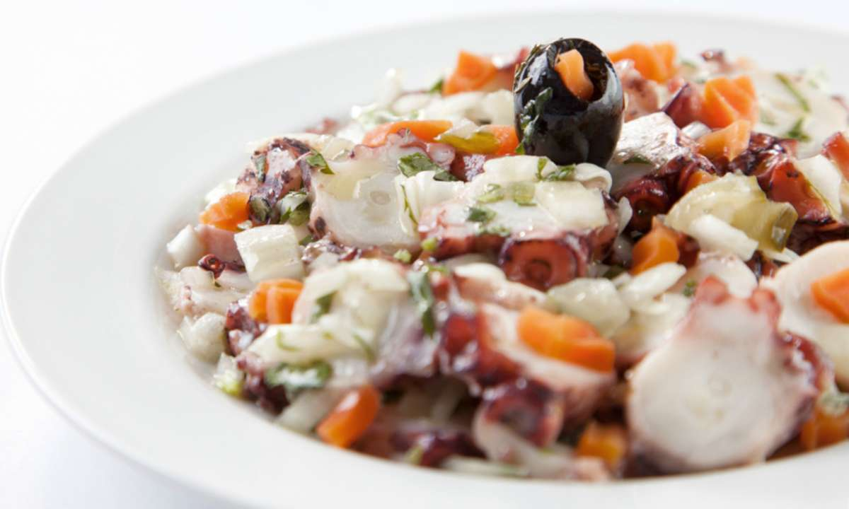 Portuguese octopus salad (Macao Government Tourism Office)