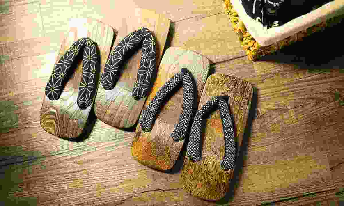Traditional slippers found in Japanese ryokans (Dreamstime)