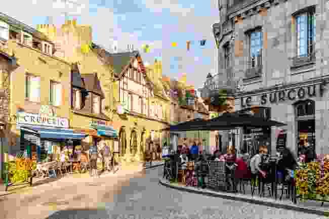 Inside the town of Roscoff (Shutterstock)