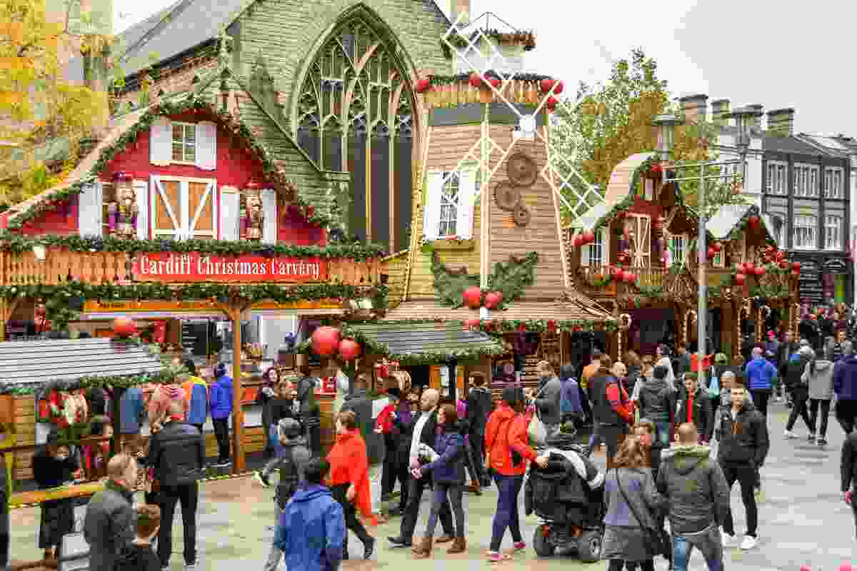 Cardiff Christmas Market, Cardiff (Shutterstock)
