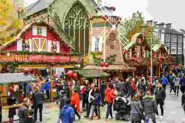 Cardiff Christmas Market, Cardiff (Shutterstock)