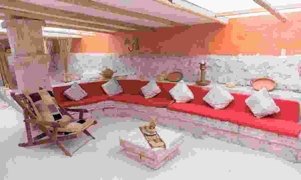 Salt hotel on Salar de Uyuni