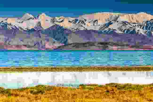 Lake Karakul in Pamir in Tajikistan (Shutterstock)