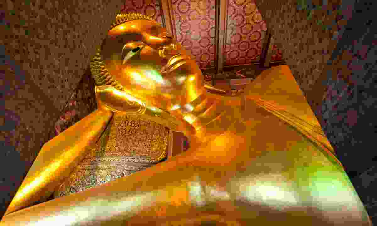 The reclining Buddha of Wat Pho (Dreamstime)