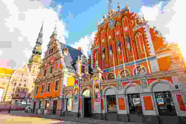 The House of The Blackheads, Riga, Latvia (Dreamstime)