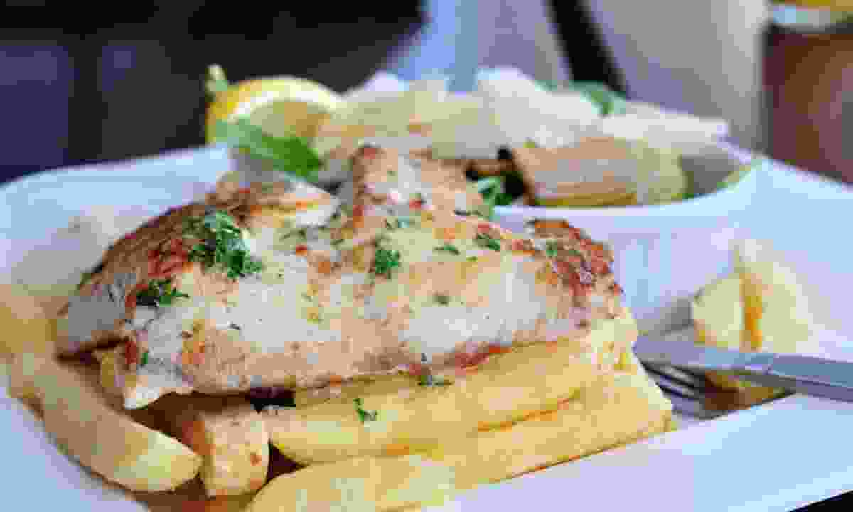 Fish and chips, Perth style (Dreamstime)