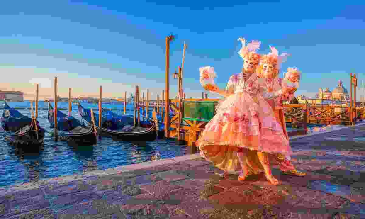 Carnival in Venice (Shutterstock)