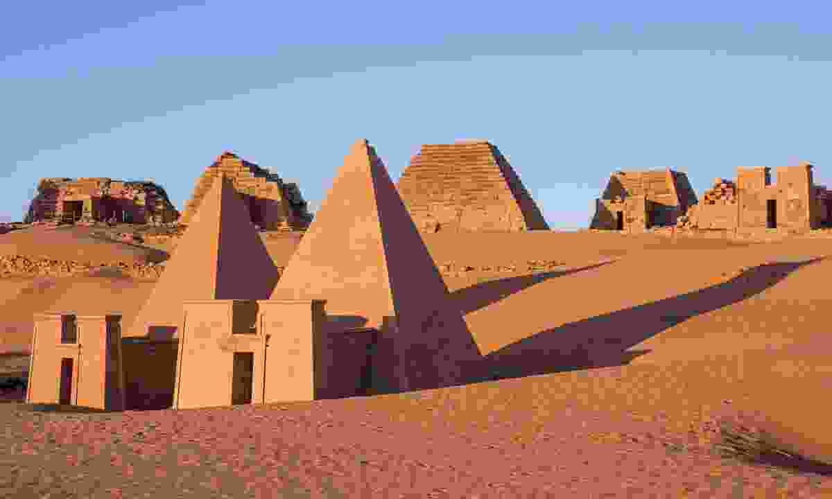 Meroe pyramids at sunrise (Shutterstock)