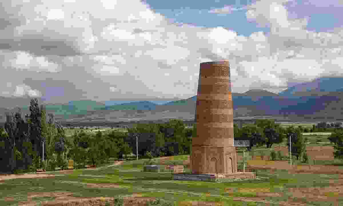 The Burana Tower was built by the khan to protect his daughter from a death predicted by a fortune-teller (Dreamstime)