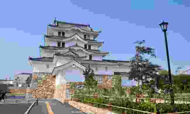 Amagasaki's cute castle