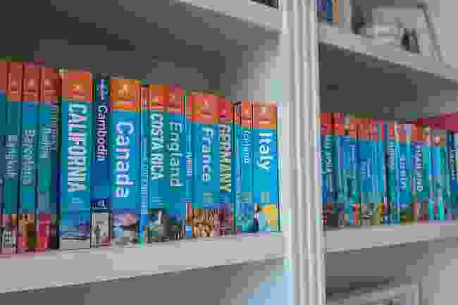 It's not enough to own the guidebooks. They must be in order... (Jackie Scully)