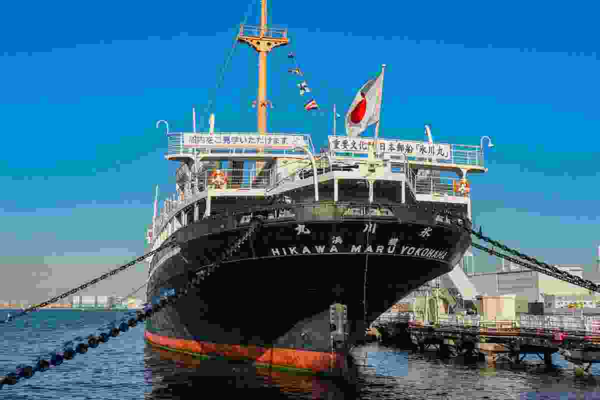 Hikawa Maru in Yokohama Port (Shutterstock)
