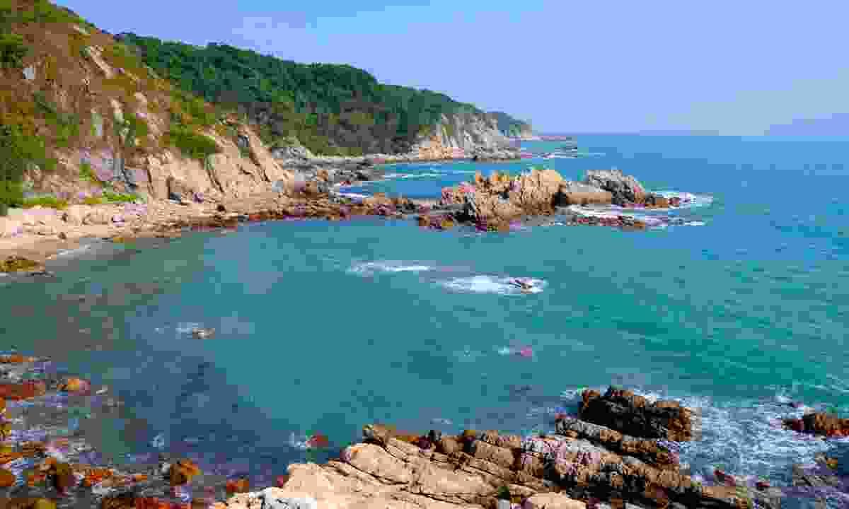 Shenzhen's rugged coastline (Shutterstock)