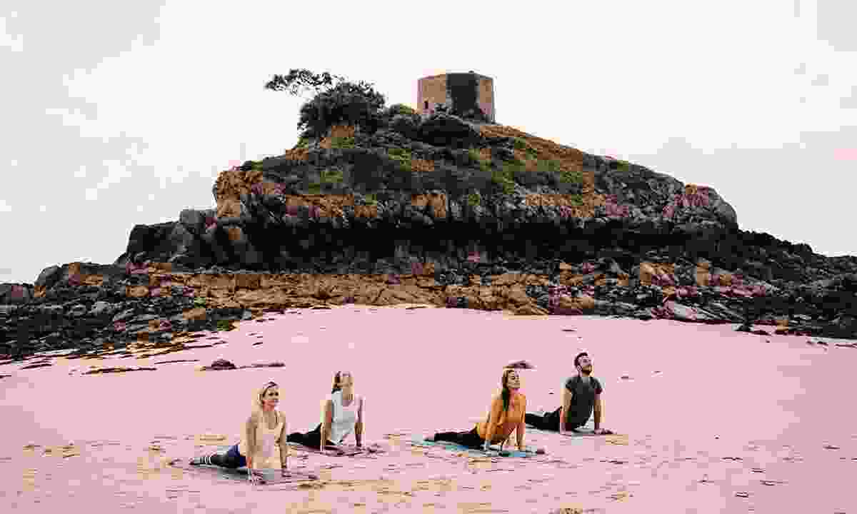 Ease yourself into island life with a yoga session (Visit Jersey)