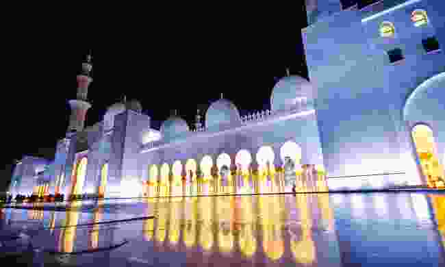 Beyond the surface Sheikh Zayed Grand Mosque – probably the most famous site in Abu Dhabi (Phoebe Smith)