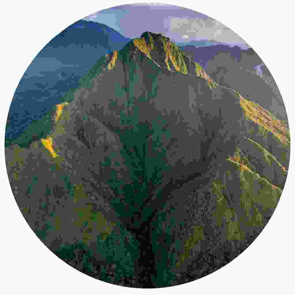 Dominica is the most mountainous landscape in the region