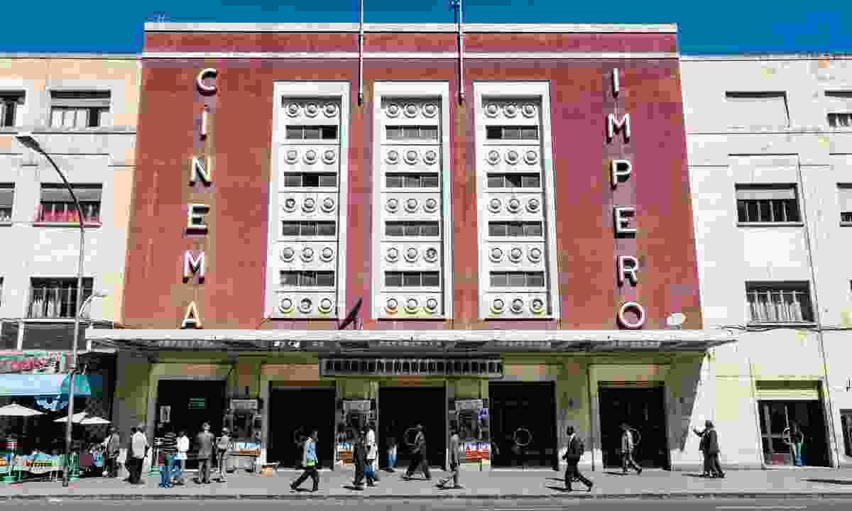 Italian colonial Art Deco Cinema in Asmara (Dreamstime)
