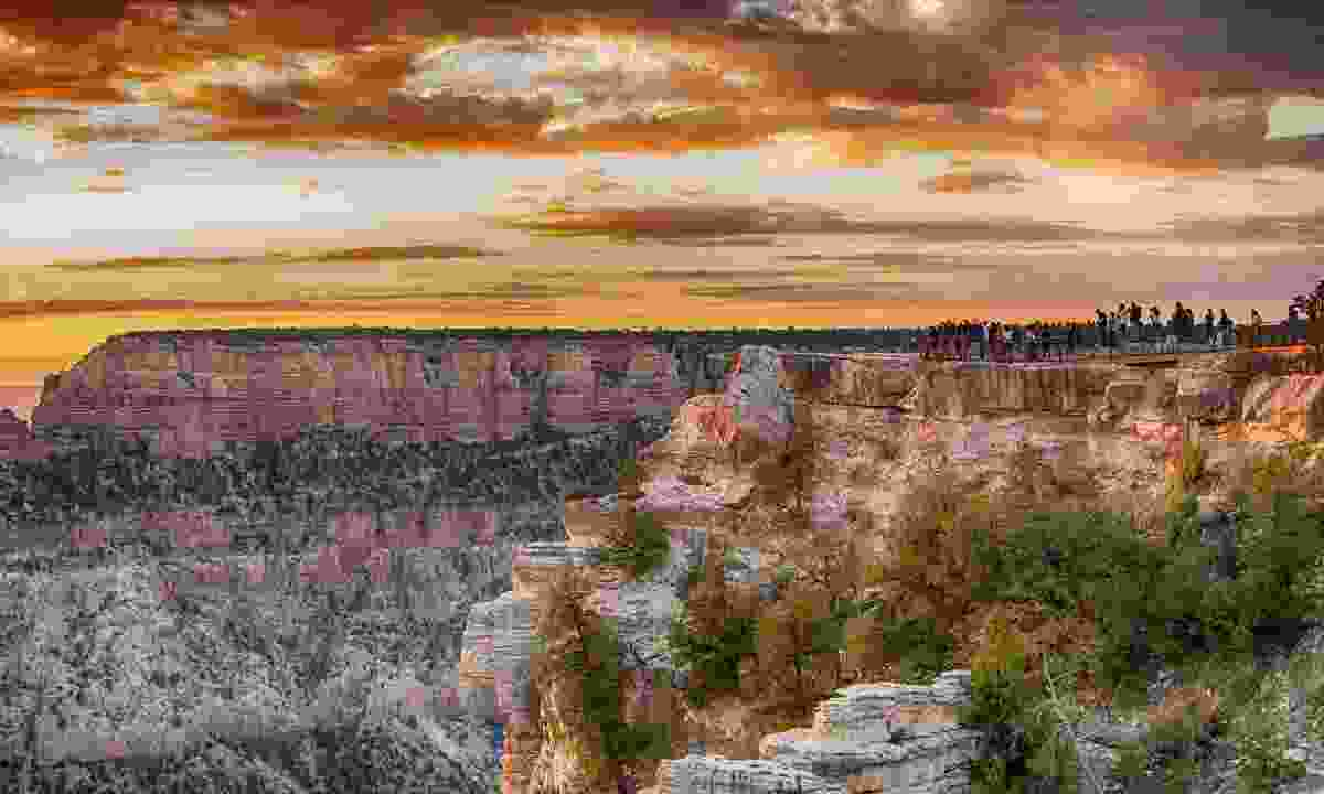 It took over five million years for the Colorado River to carve the 1.6km-deep Grand Canyon (Dreamstime)