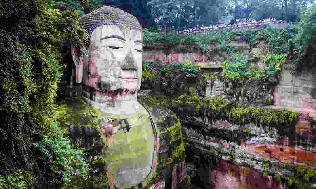 The Giant Buddha of Leshan. (Dreamstime)