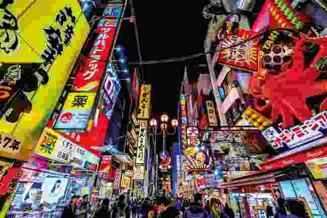 Osaka's tourist-heavy Dōtonbori district (Shutterstock)