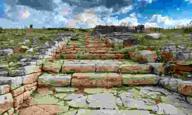 Ruins at ancient Pleuron (Shutterstock)