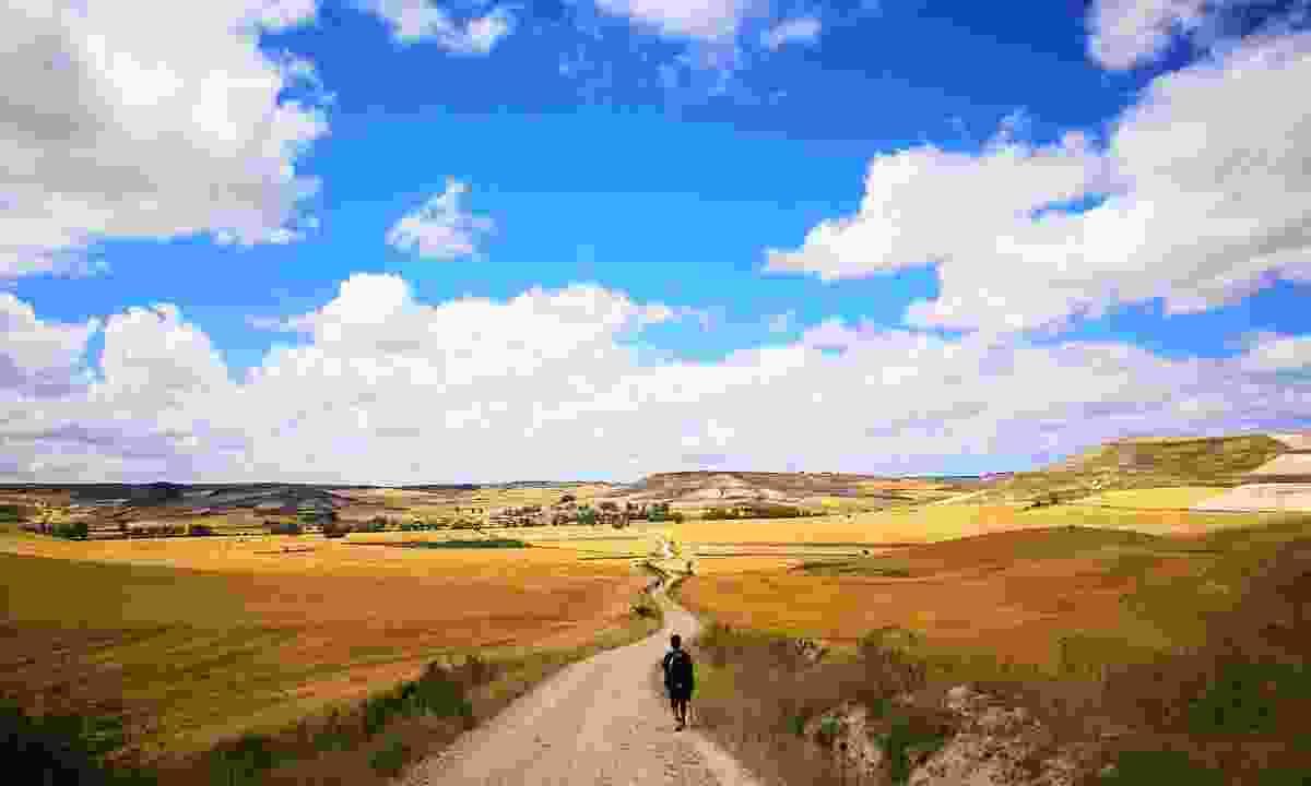 Walking the Camino de Santiago in Autumn will mean it will be much quieter (Shutterstock)
