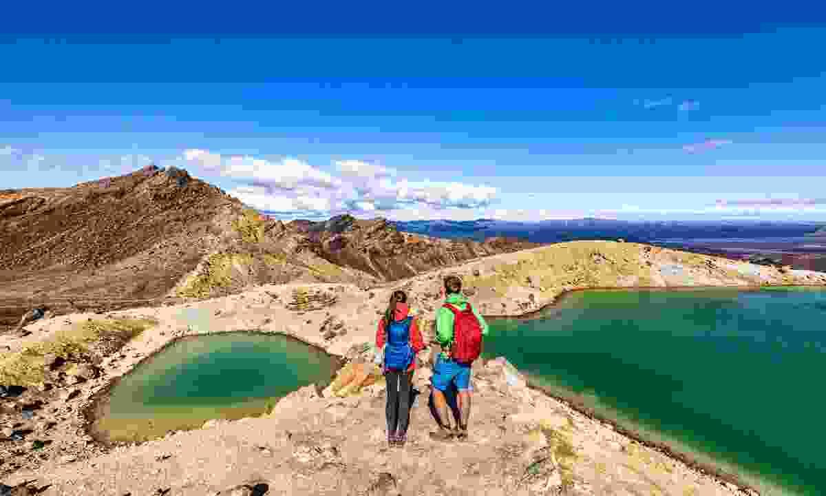 Hiking the Tongariro Alpine Crossing (Shutterstock)