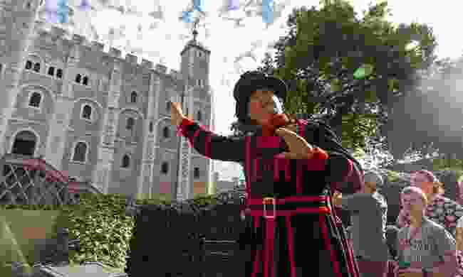 Enjoy a guided tour of the Tower of  London from a Beefeater (Klook)