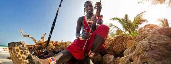 Kenyan man (Shutterstock)