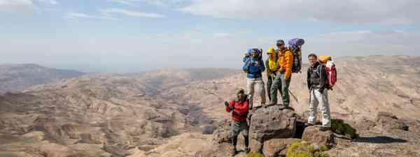 Epic views along the Jordan Trail (Jordan Trail)