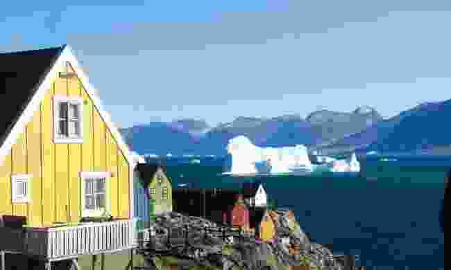(Ella Grødem) A typical view in Uummannaq