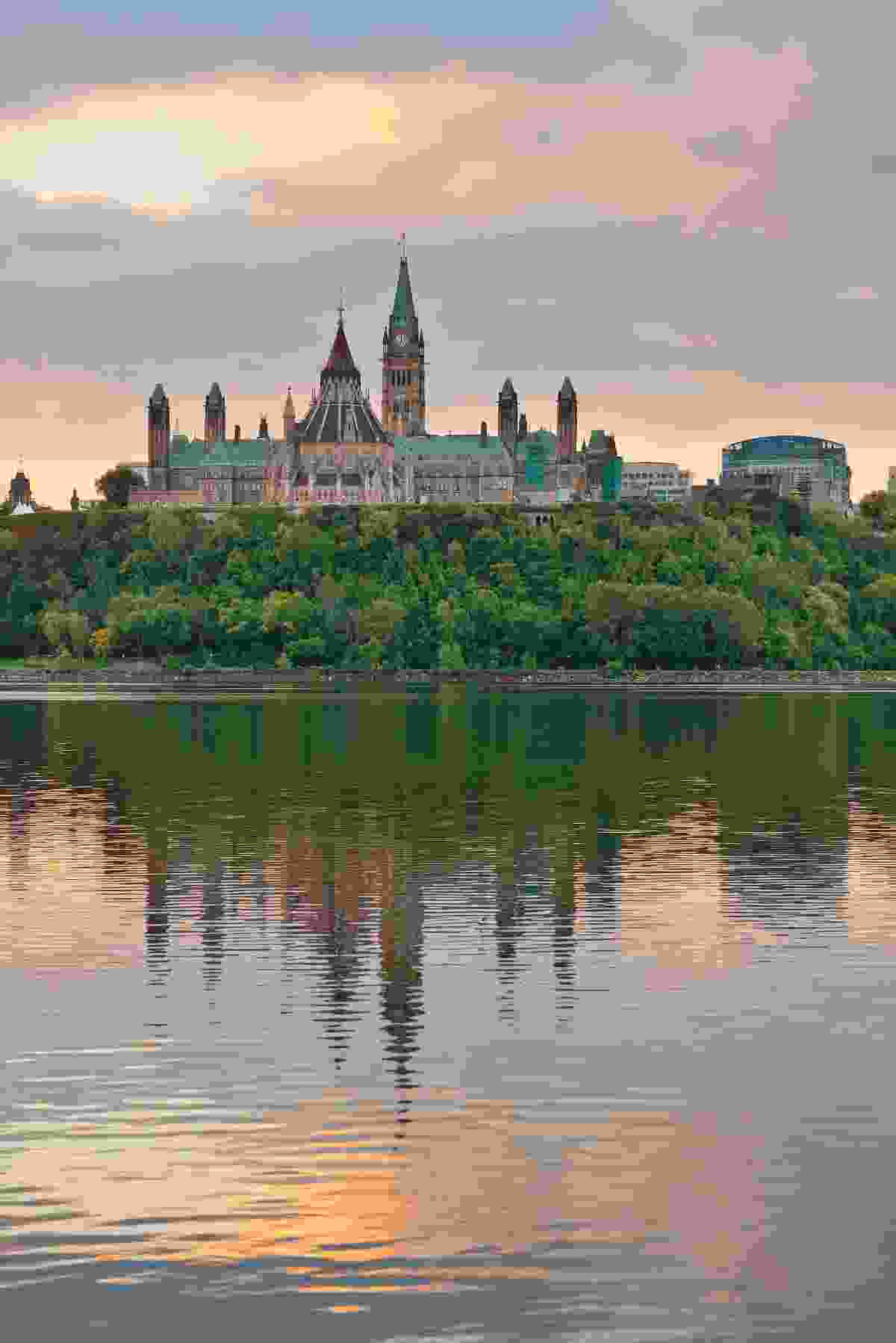 Ottawa city skyline at sunrise (Shutterstock)