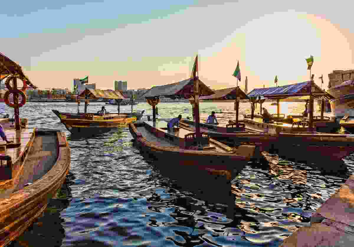 Traditional wooden boats are called abras (Shutterstock)