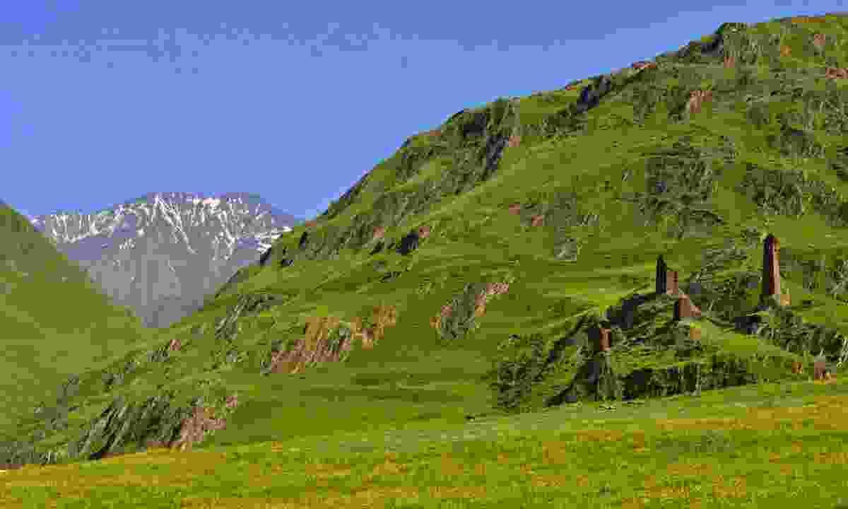 The trek from Omalo to Shatili through the Atsunta Pass (Shutterstock)