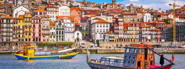 Boats in Porto, Portugal (Dreamstime)