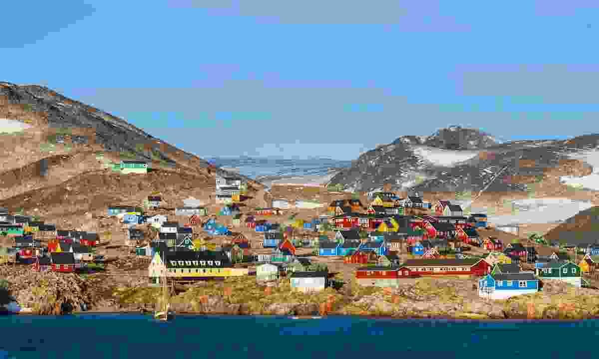 The remote village of Ittoqqortoormiit (Dreamstime)