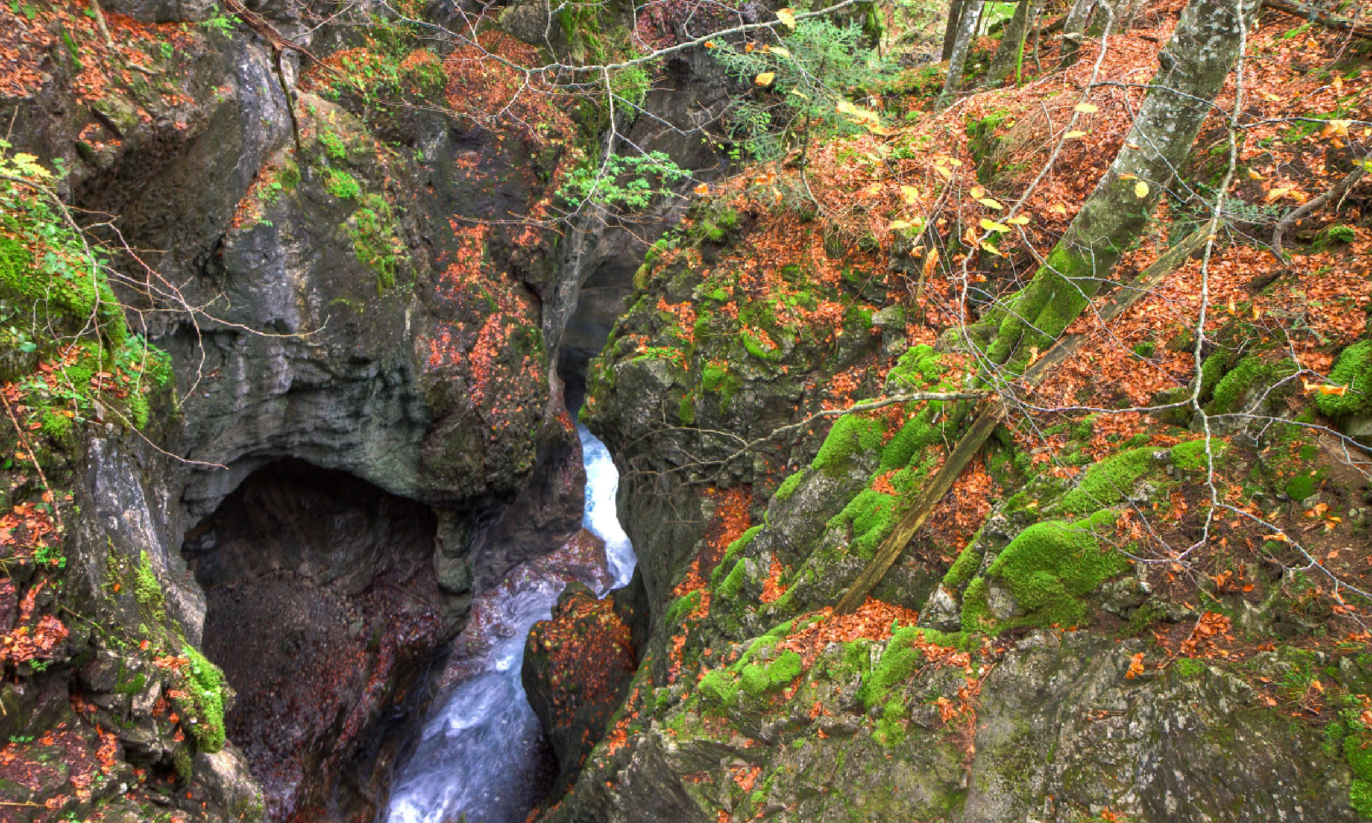 Canyon in Brandnertal (Shutterstock)