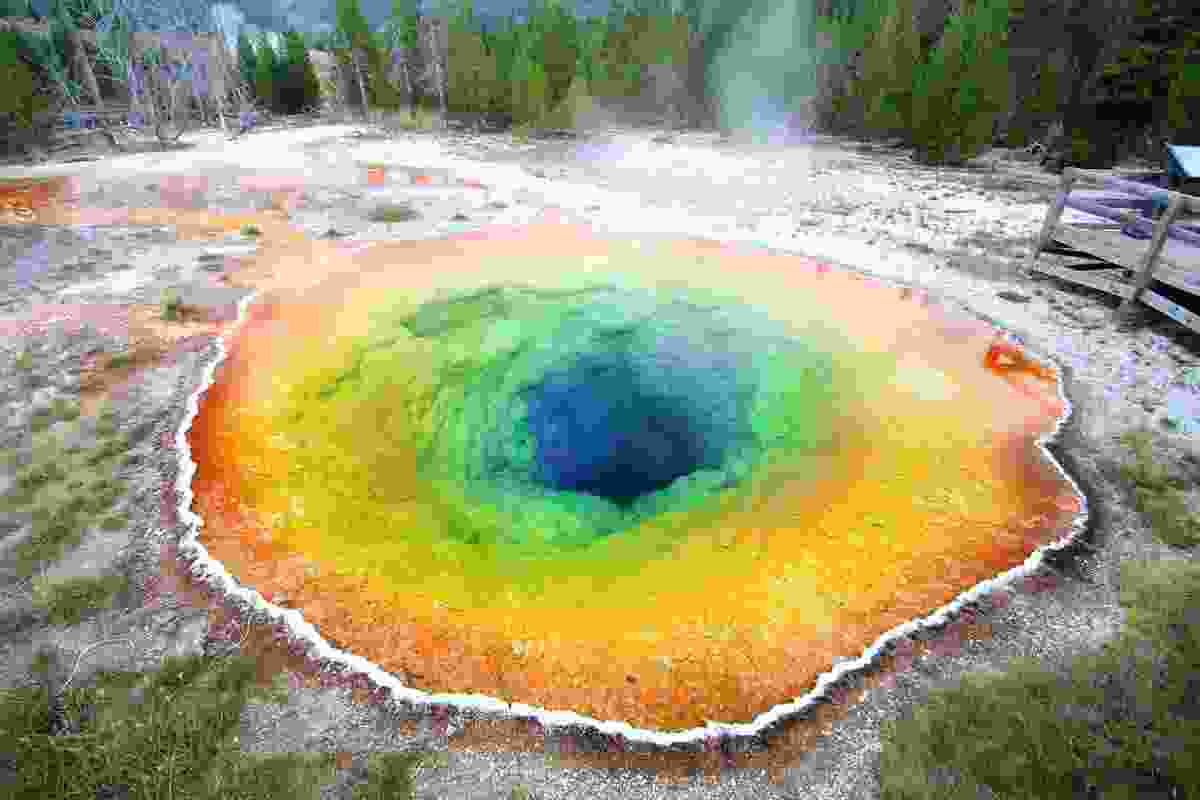 Morning Glory Pool, Upper Geyser Basin, Yellowstone National Park (Shutterstock)