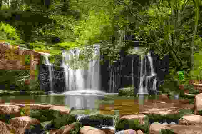 Waterfall in Brecon Beacons National Park (Shutterstock)
