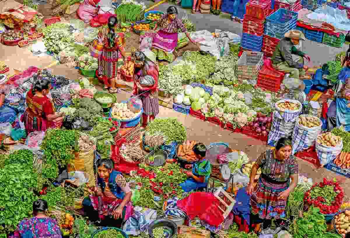 Chichicastenango market (Sarah Gilbert)
