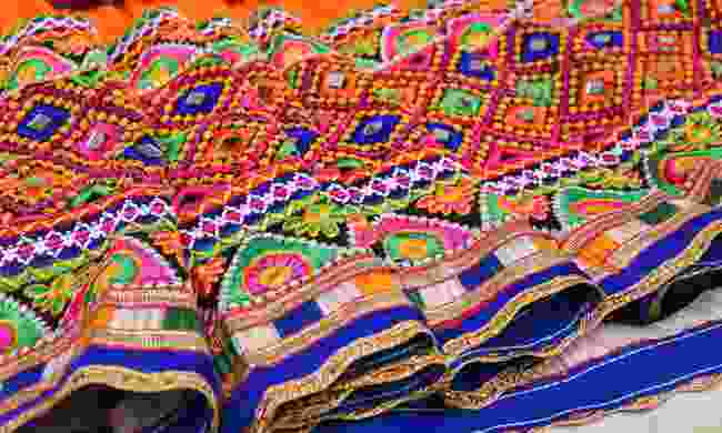 Admire the intricate patterns of local handicrafts (Shutterstock)
