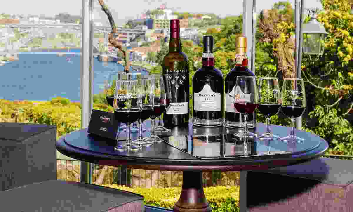 A scenic Grahams port tasting session (Shutterstock)