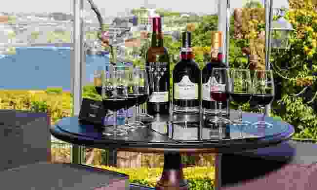 A scenic Grahams port tasting session (Shutterstock)