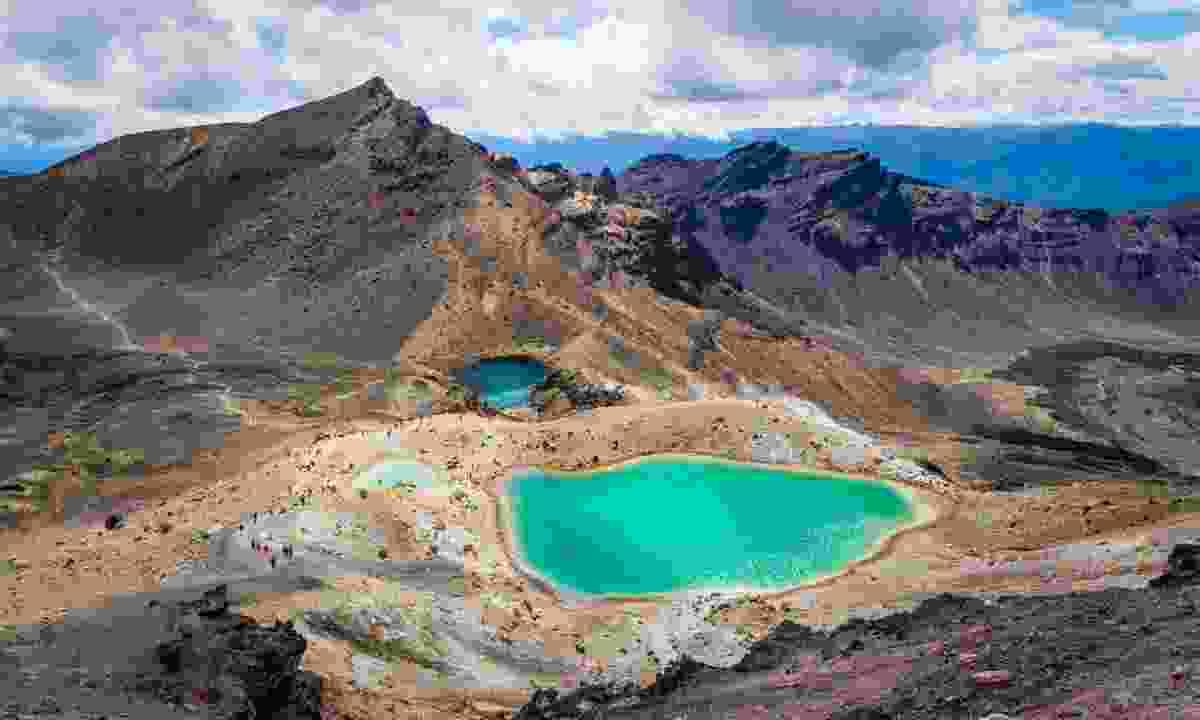 Tongariro National Park, New Zealand (Shutterstock)