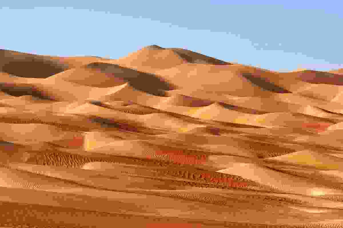 Rub' al Khali desert, close to Dubai (Shutterstock)