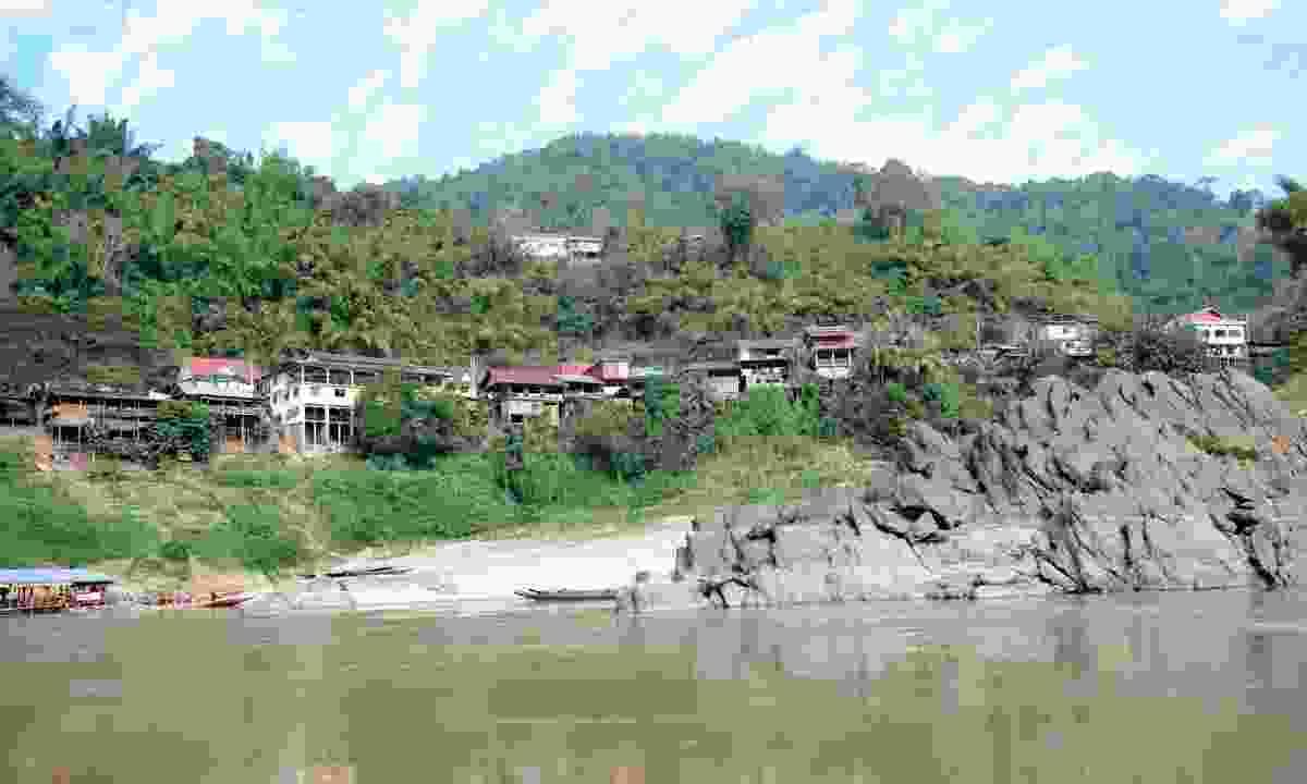 The village of Pak Beng, Laos (Dreamstime)