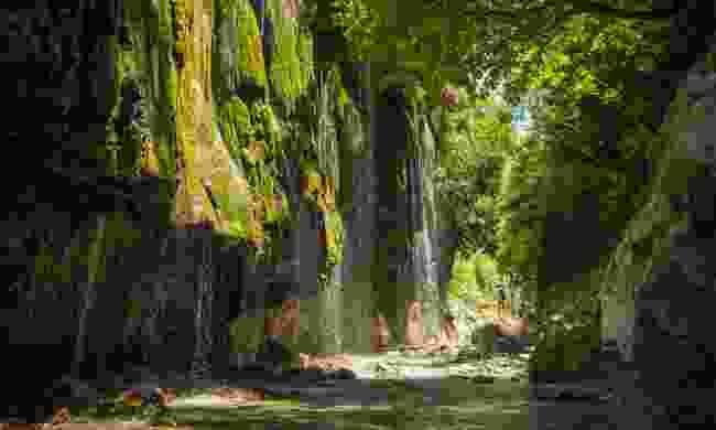 Waterfalls at Panta-Vrechei
