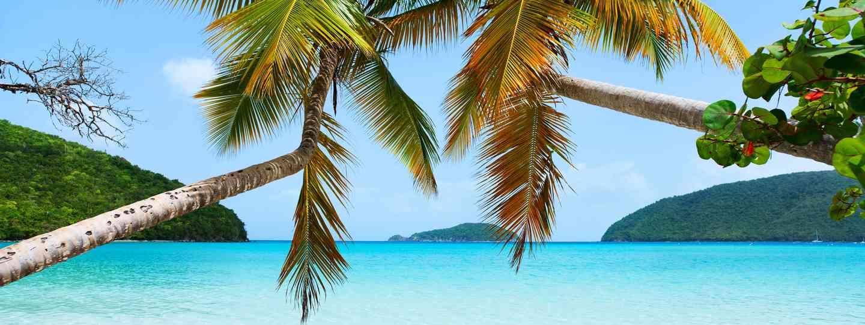 A deserted beach on St. Johns (Dreamnstime)