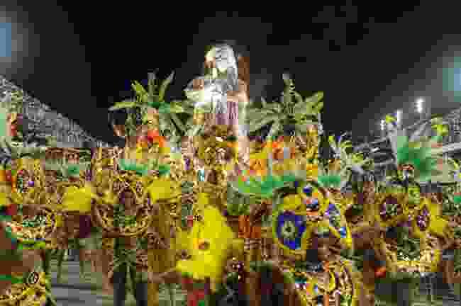 Rio Samba School performs during Carnival, Brazil (Shutterstock)